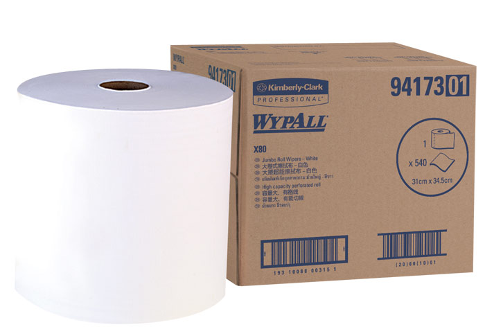 WYPALL* X80 Jumbo Roll Wipers
